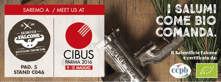 Il Salumificio Falcone vi aspetta al Cibus 2016
